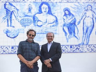 Muro do Hospital Santa Izabel com intervenção artística de Bel Borba é apresentado