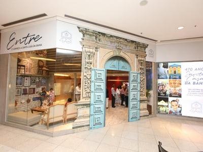 Visite a Loja Comemorativa pelos 470 anos da Santa Casa da Bahia no Salvador Shopping