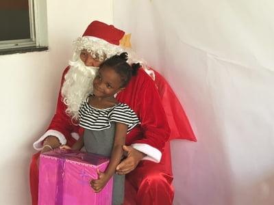 Solidariedade marca Natal de crianças
