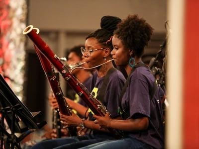 Núcleo de Prática Musical no Bairro da Paz realiza 4ª Feira da Música