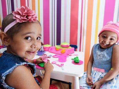 Projeto Social acolhe crianças em tratamento médico hospitalar