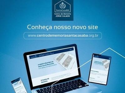 Centro de Memória Jorge Calmon inaugura site que disponibilizará documentos históricos digitalizados para pesquisa