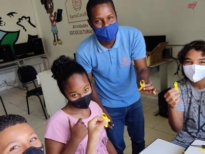 Setembro Amarelo: Colaboradores do Programa Avançar fazem campanha de promoção e valorização da vida