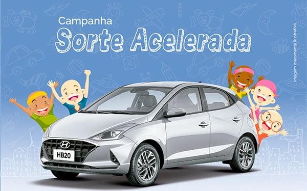 Santa Casa da Bahia participa da 1ª edição da campanha Sorte Acelerada em prol de crianças e adolescentes com câncer