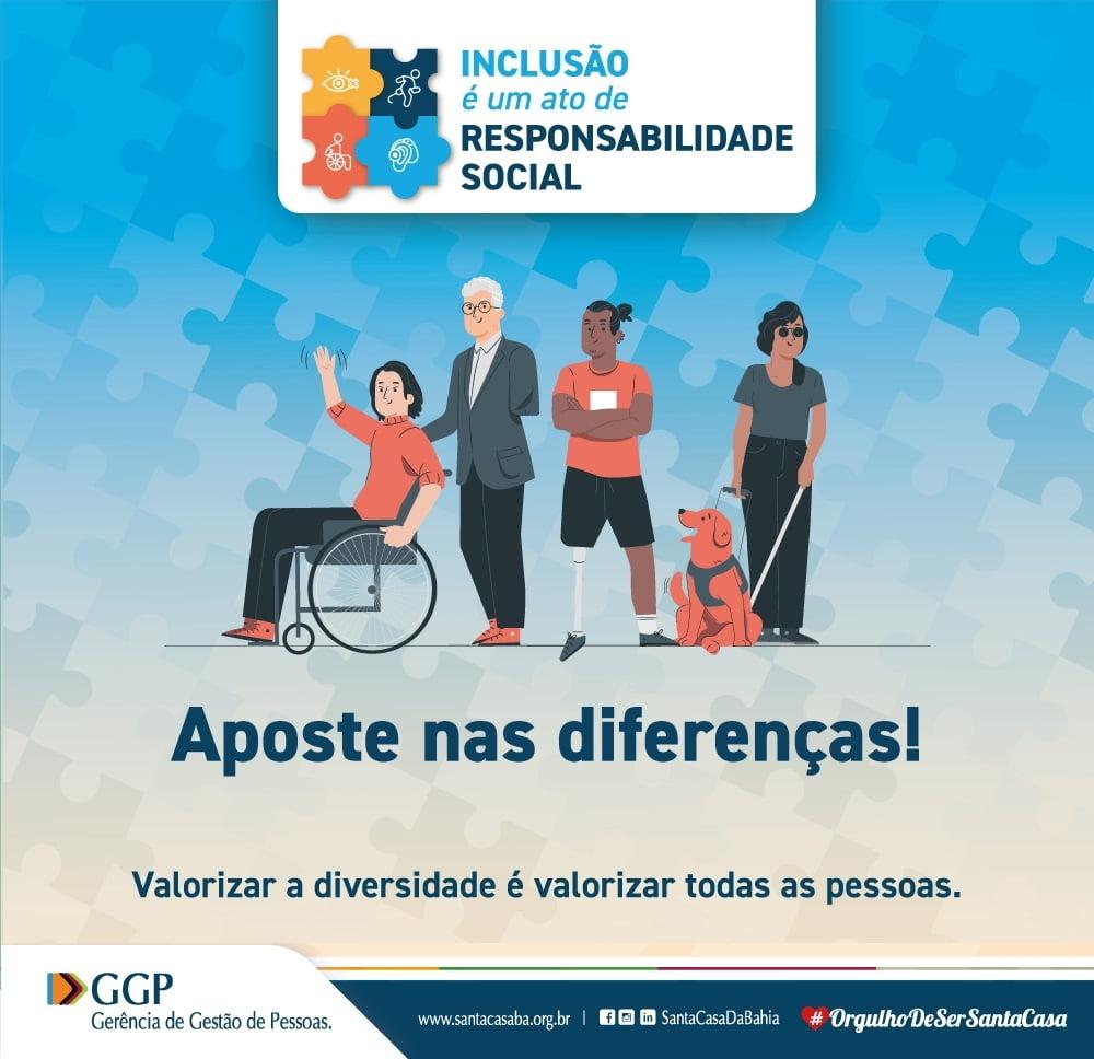 Santa Casa da Bahia abre vagas de emprego para pessoas com deficiência