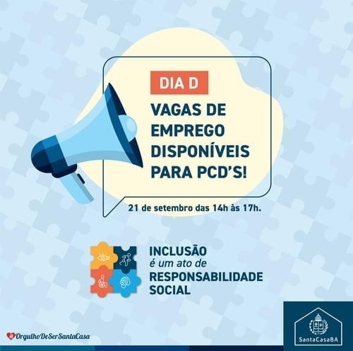 Santa Casa da Bahia realiza ação para recrutar pessoas com deficiência